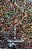 The Market Theater Gum Wall Royalty Free Stock Images