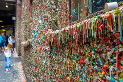 The Market Theater Gum Wall Stock Image