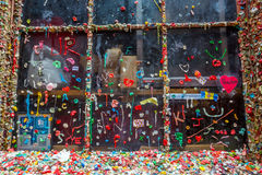 The Market Theater Gum Wall Royalty Free Stock Photo