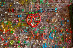 The Market Theater Gum Wall Stock Images