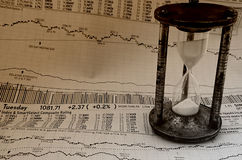 Market Timing 3 Stock Photos