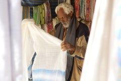 A market trader, Mek'ele Royalty Free Stock Images