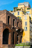 Market of Trajan in Rome Stock Images