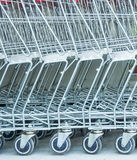 Market trolley Stock Images