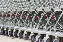 Market trolley - Stock Image Stock Image