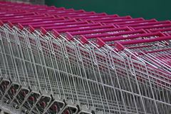 Market trolley - Stock Image Royalty Free Stock Images