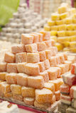 Market with turkish delight Royalty Free Stock Images