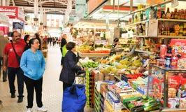 Market in Valencia, Spain Stock Photos