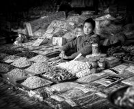 Market Vendor, Nha Trang, Vietnam Stock Photography