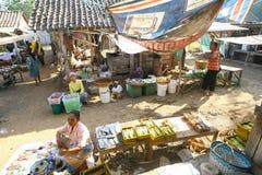 Market village Stock Photography