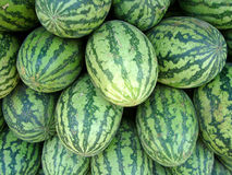 Market Watermelons Royalty Free Stock Image