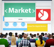 Market Web Page Seminar Presentation Concept Stock Photos