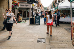 Market in WInchester Royalty Free Stock Photo