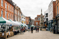 Market in WInchester royalty free stock photos