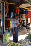 Market in Wonosobo. In Indonesia Royalty Free Stock Photography