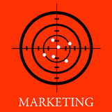Marketing. Getting good results by having a successful marketing plan Royalty Free Stock Photos
