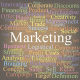Marketing Image stock