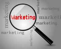 marketing ilustração royalty free