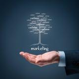 marketing lizenzfreies stockbild