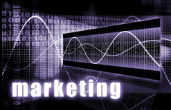 Marketing. As a Creative Concept Art Background royalty free illustration