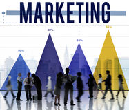 Marketing Advertise Analysis Business Commercial Concept Royalty Free Stock Photography