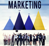 Marketing Advertise Analysis Business Commercial Concept.  Stock Photo
