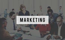 Marketing Analysis Branding Advertisement Business Concept stock photography