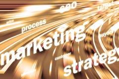 Marketing background Royalty Free Stock Image