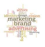 Marketing brand advertising Royalty Free Stock Photos