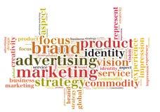 Marketing brand advertising Stock Photos