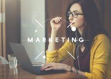 Marketing Branding Business Commercial Design Concept stock images