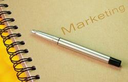Marketing-Buch Stockbild