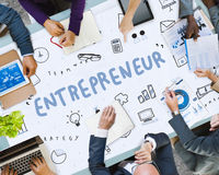Marketing Business Corporation进展概念 图库摄影