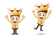 Marketing business king Stock Photo