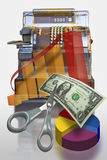 Marketing cash register Royalty Free Stock Photography