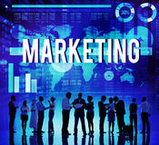 Marketing Commercial Business Analysis Data Concept Royalty Free Stock Image