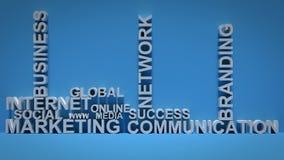 Marketing Communication Concept Royalty Free Stock Photo
