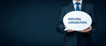 Marketing communications concept Stock Photography