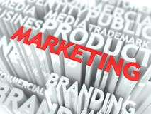 Marketing Concept. Stock Photography
