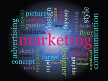 Marketing concept Royalty Free Stock Photography