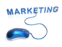 Marketing concept - mouse Royalty Free Stock Image