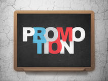 Marketing concept: Promotion on School Board Stock Photo