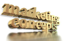 Marketing concepts stock video footage