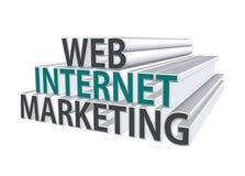 Marketing  3D text Stock Photos