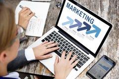 Marketing de Strategieconcept van het Organisatiebeheer stock afbeelding