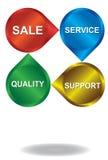 Marketing design Royalty Free Stock Images