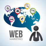 Marketing design Stock Images