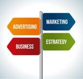 Marketing design Royalty Free Stock Image