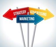 Marketing design Stock Image