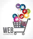Marketing design Stock Photography